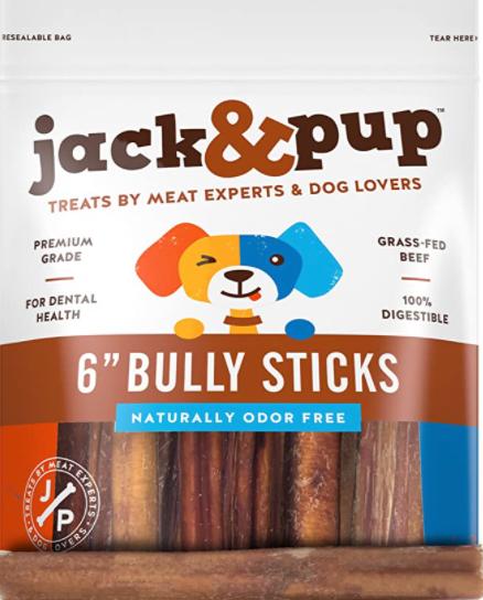 Jack & Pup Bully Sticks