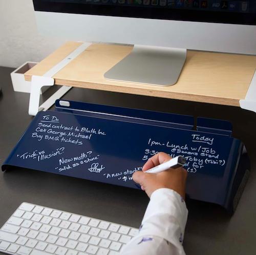 26. Fluidstance Slope Personal Desktop Whiteboard & Pen