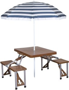 best portable picnic table stansport