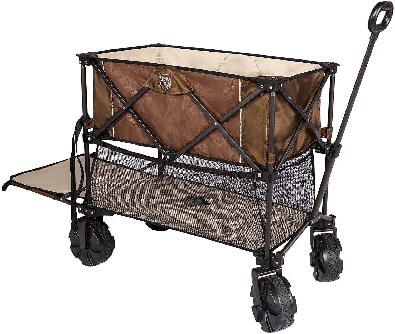 TIMBER RIDGE Folding Double Decker Wagon