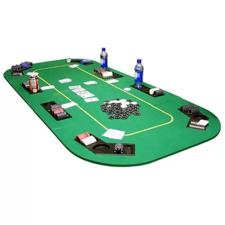 folding poker table cover