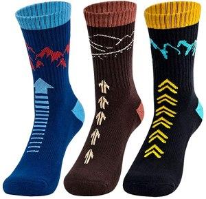 time may tell mens hiking crew socks