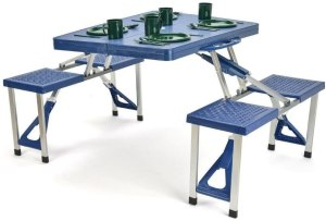 Trademark Innovations Folding Picnic Table, best outdoor picnic table