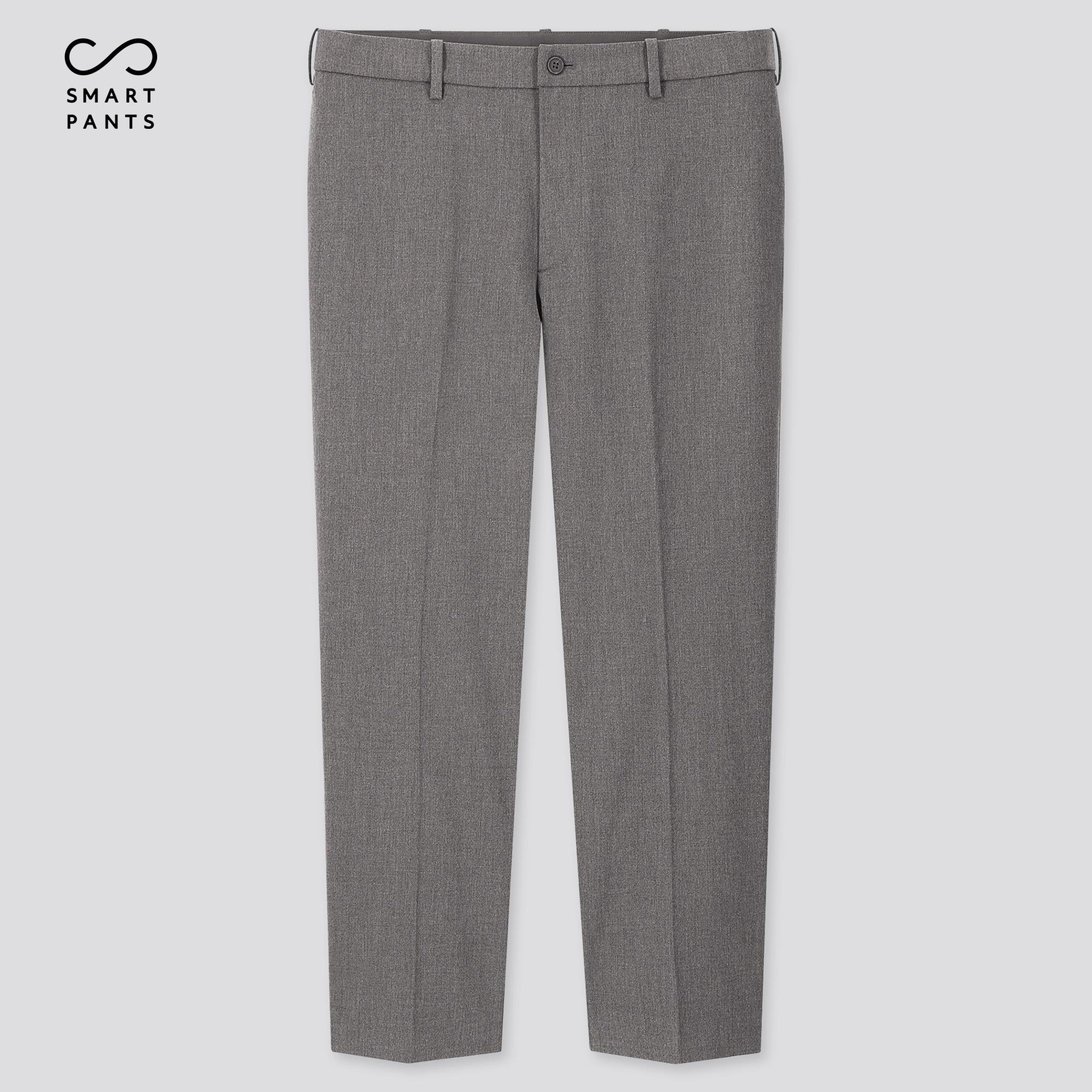 Uniqlo Men's Smart 2-Way Stretch Ankle-Length Pants