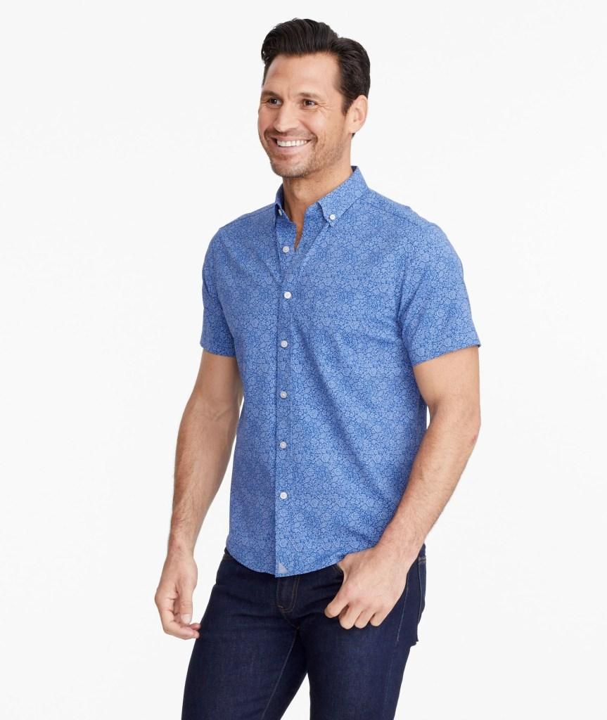 Untuckit-Wrinkle-Free-Performance-Short-Sleeve-Norkeliunas-Shirt