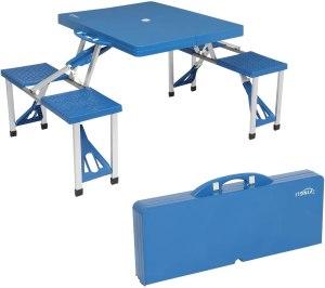 vingli folding camping picnic table