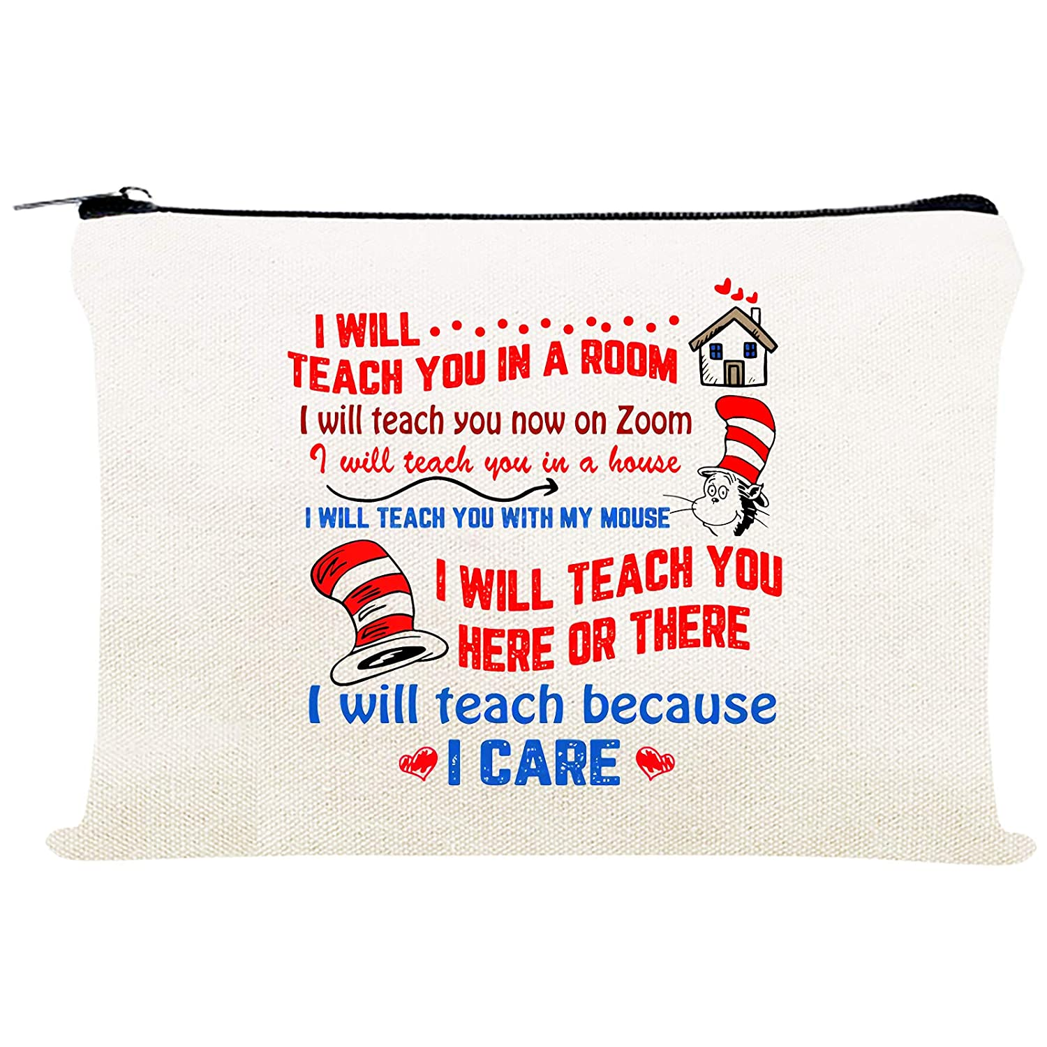 Dr. Seuss cosmetic pouch