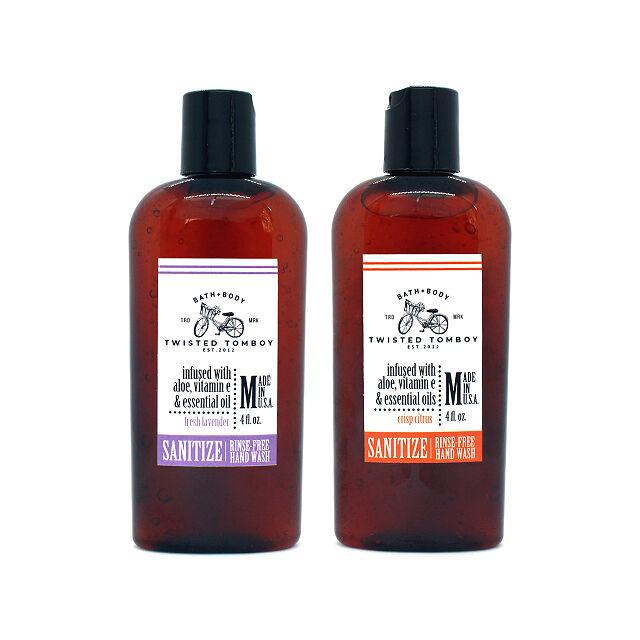 Soap free hand wash