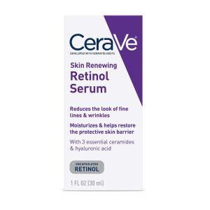 CeraVe retinol serum, mens skincare routines