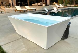 cold plunge tub, ice baths