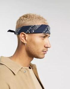 ASOS bandana, stylish headbands for men