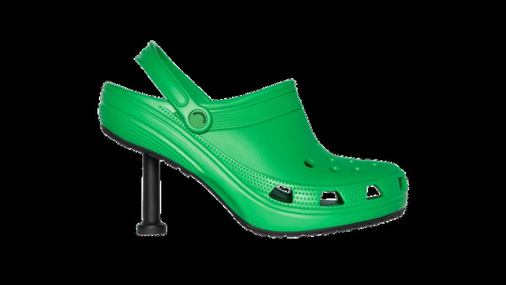 crocs balenciaga clogs heels