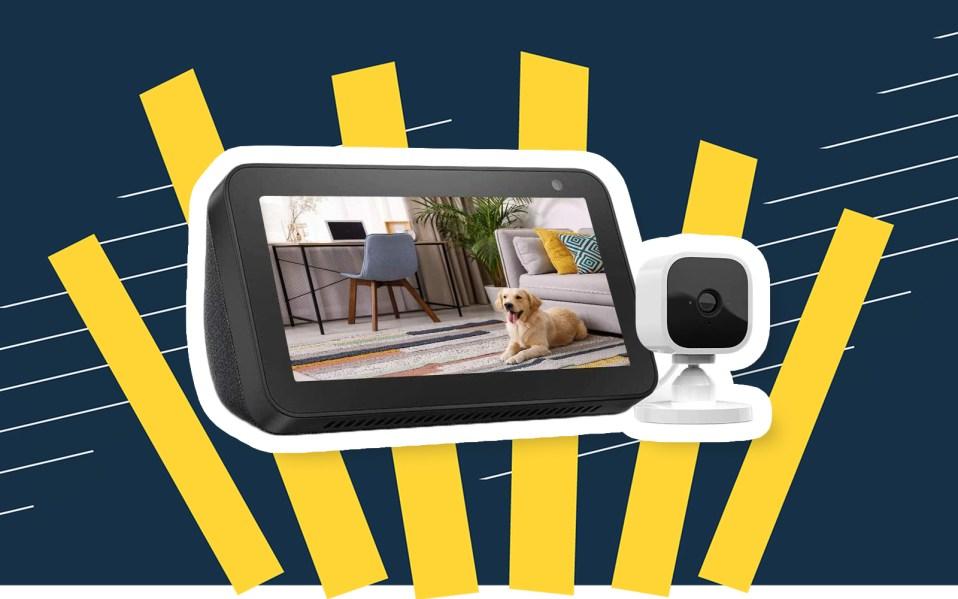 echo show blink camera bundle