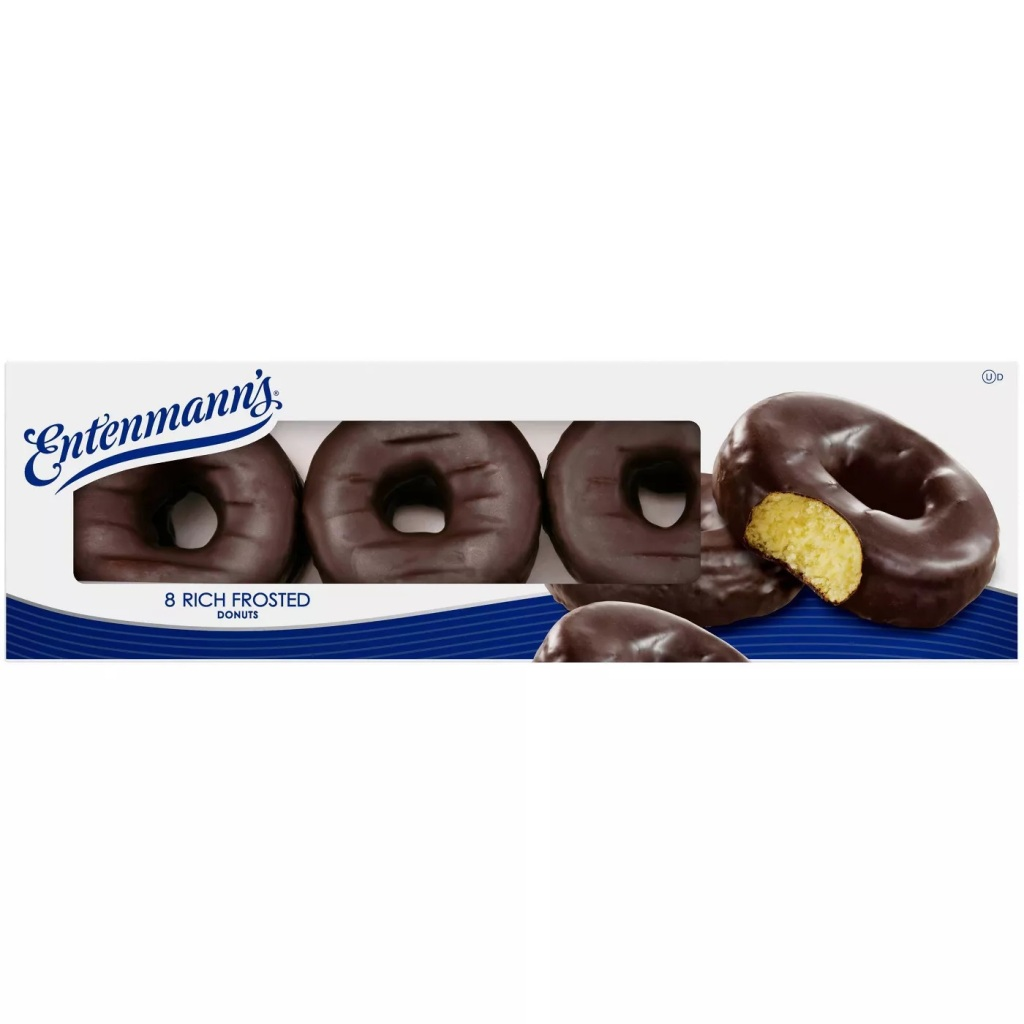 Entenmann's Rich Frosted Donuts