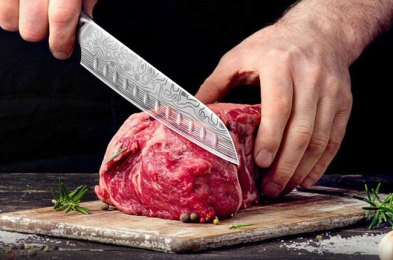 there's a reason santoku knives are popular with amateur and professional chefs alike
