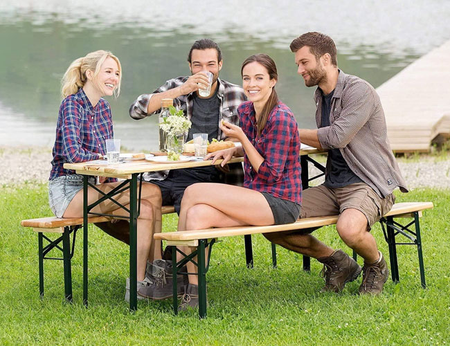 best portable picnic table