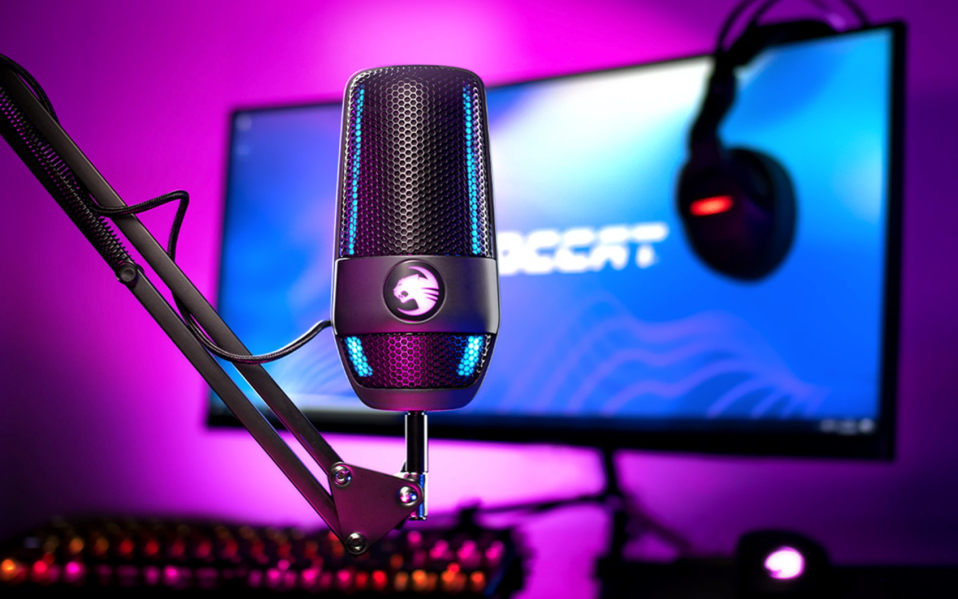 roccat gaming microphone