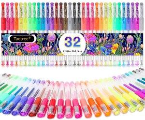 taotree store glitter gel pens