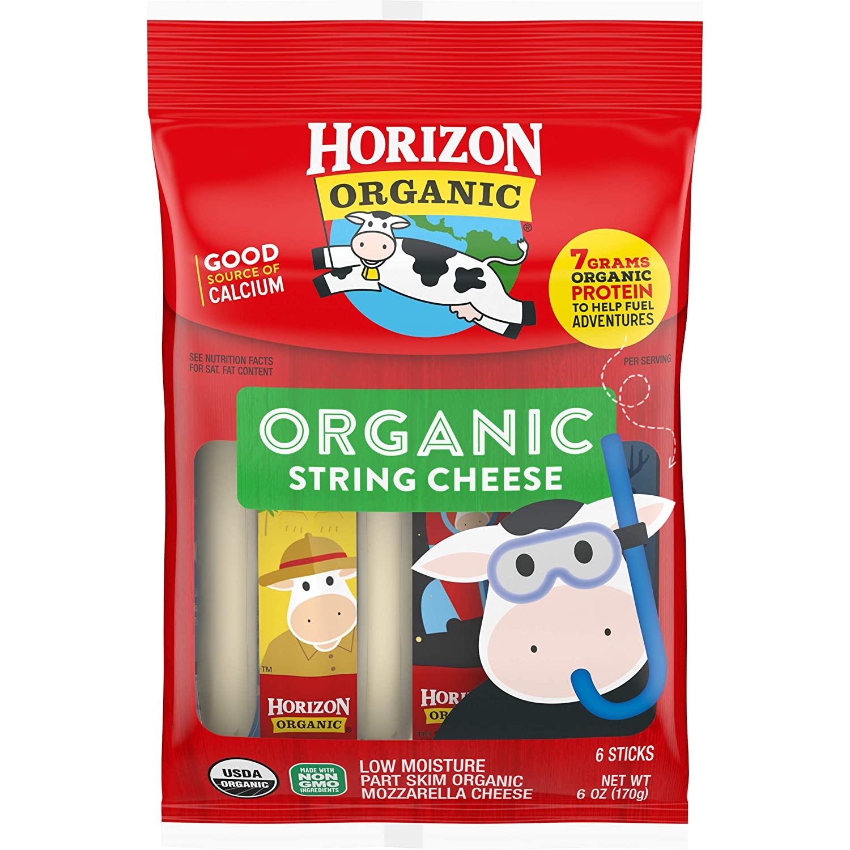 Organic cheese strings