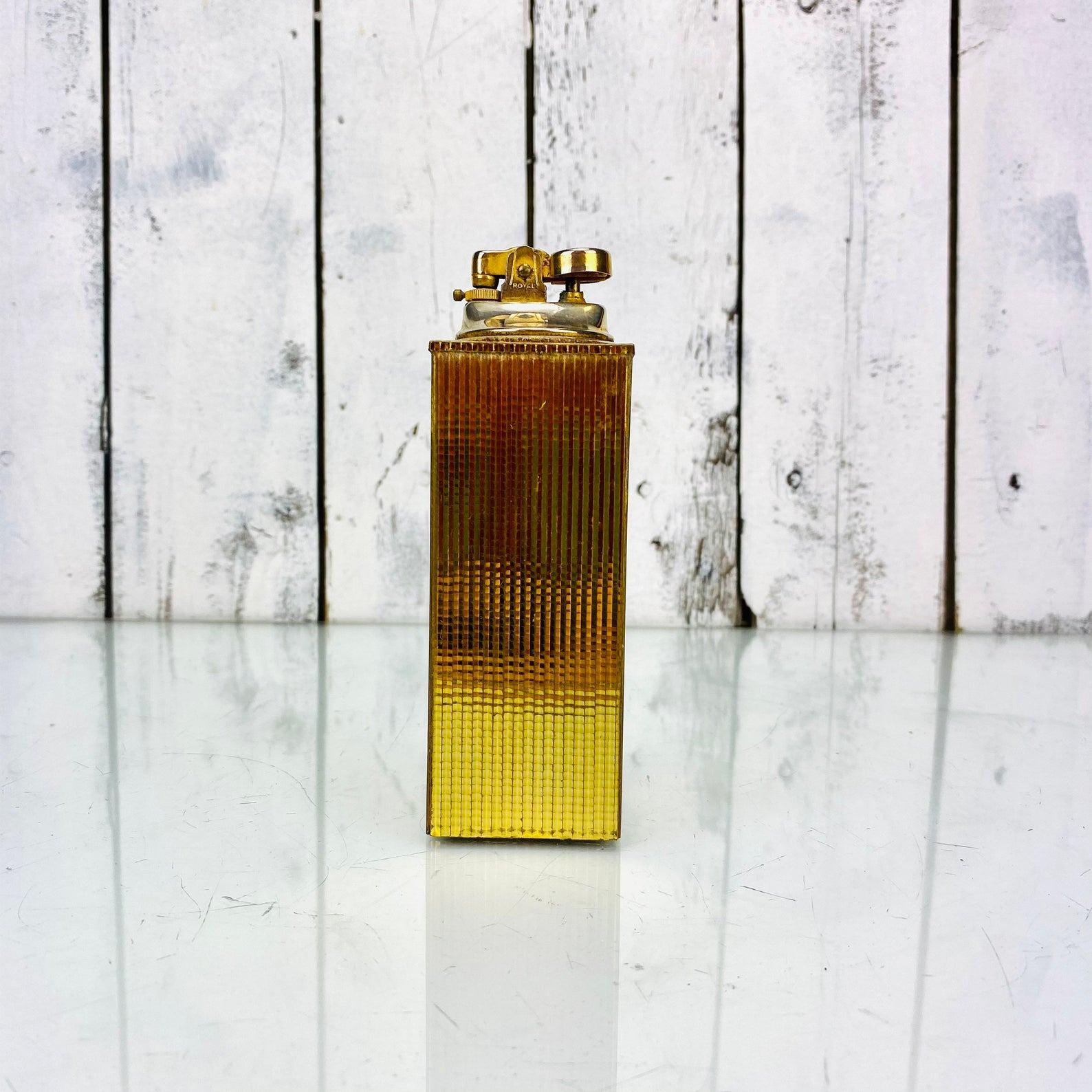 Vintage Golden Table Lighter