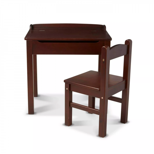 child's lift top desk and chair