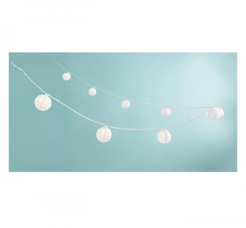 paper orb string lights
