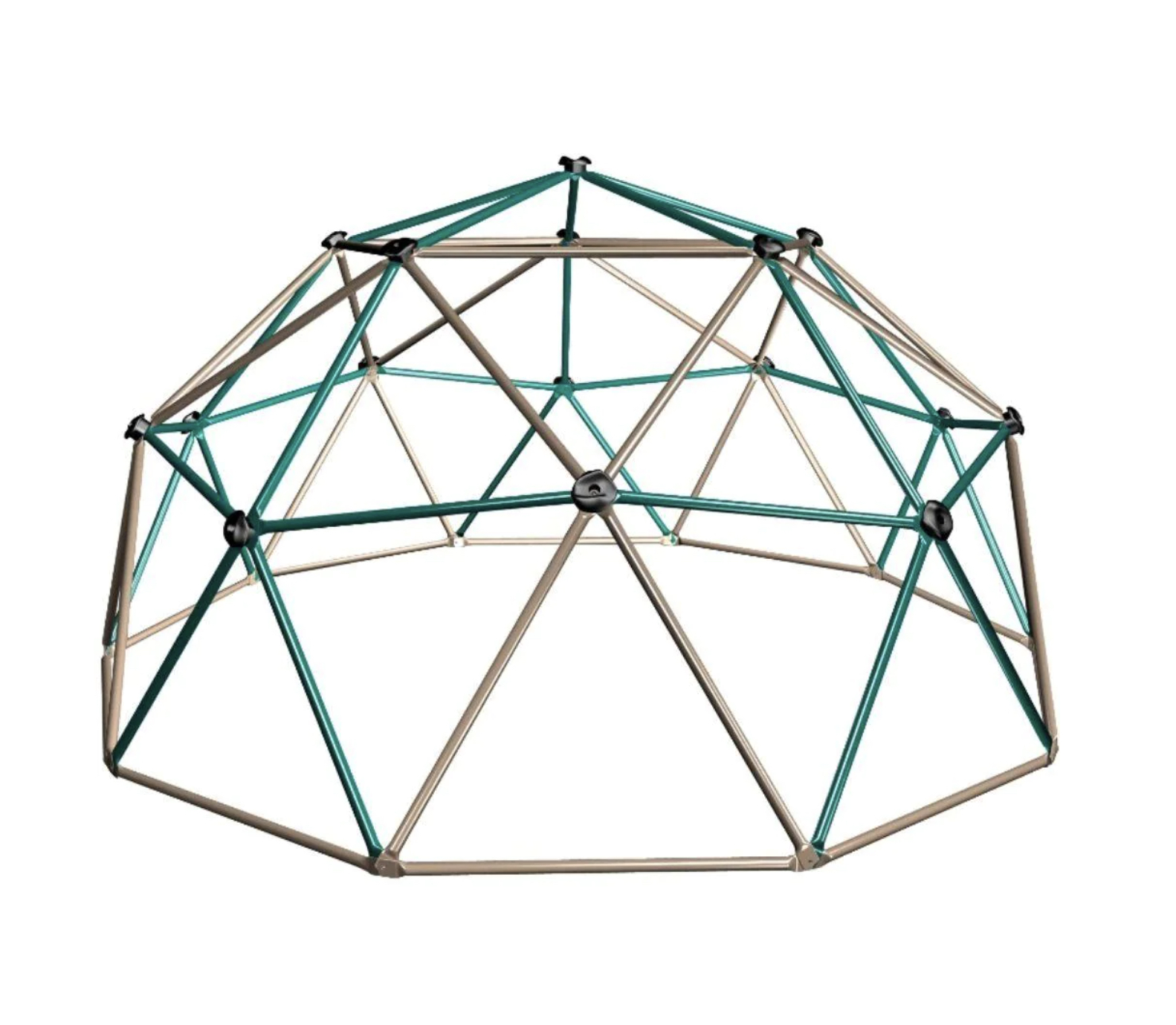 A dome structured jungle gym