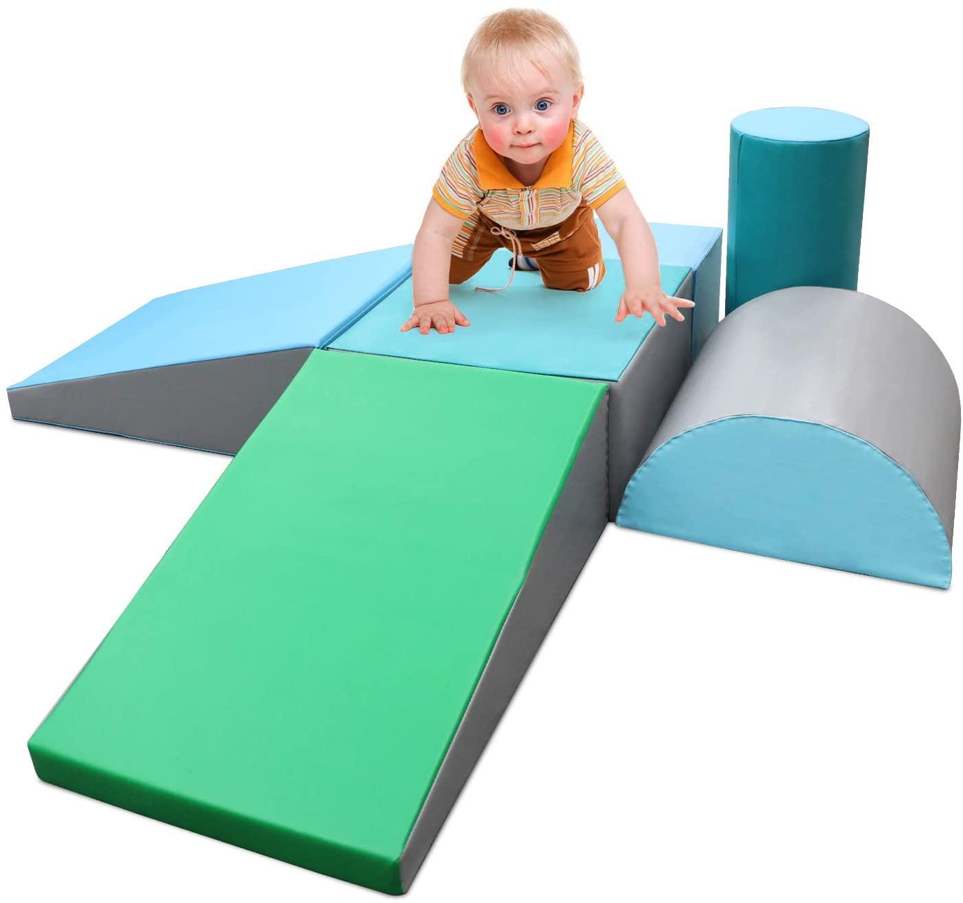 Foam jungle gym blocks