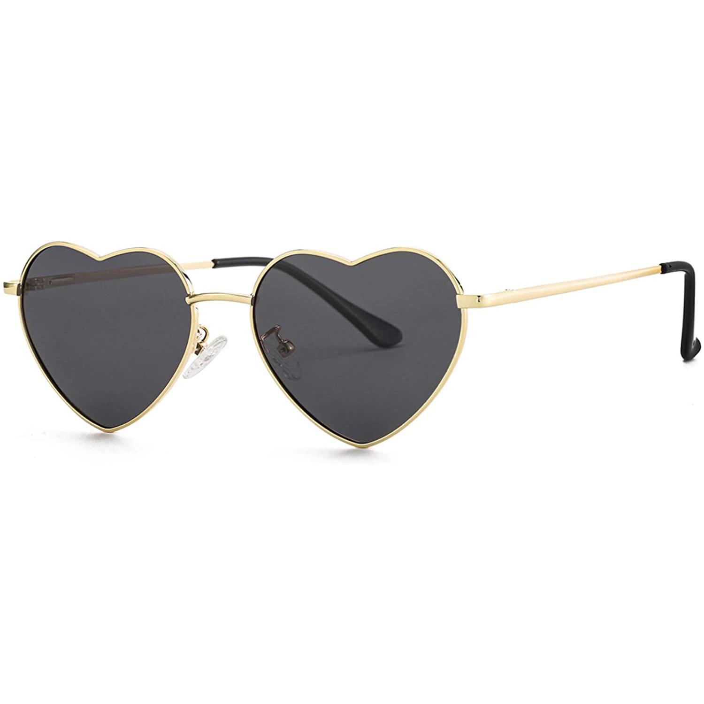 JOVAKIT Polarized Heart Sunglasses