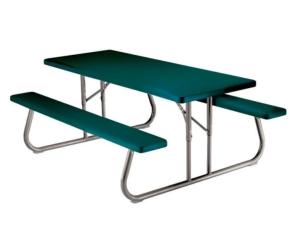 outdoor picnic table lifetime hunter green