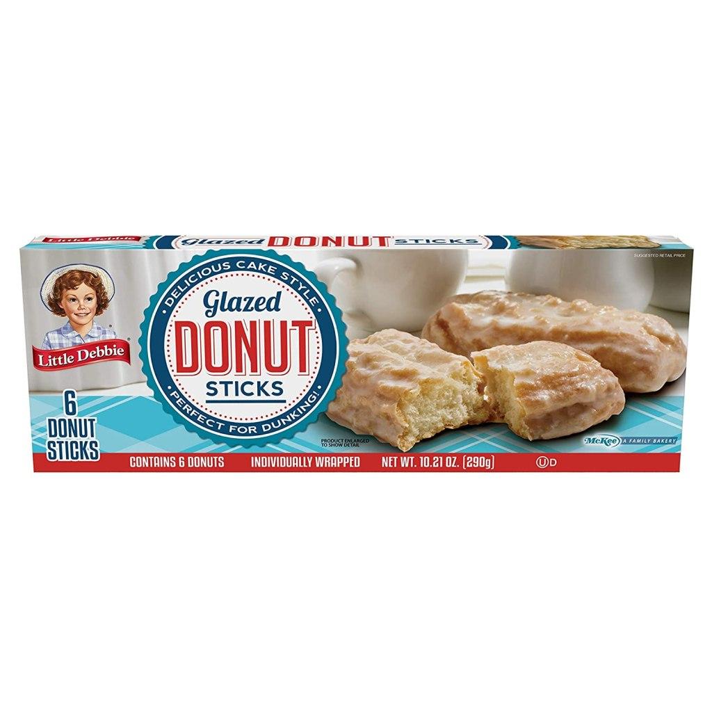 Little Debbie Glazed Donut Sticks