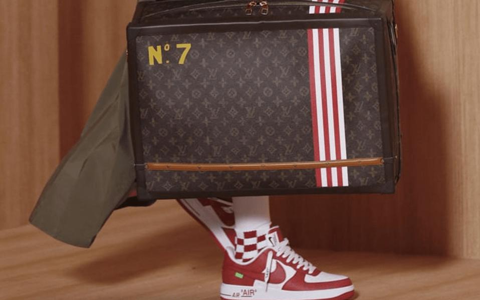 Louis Vuitton X Nike Sneakers