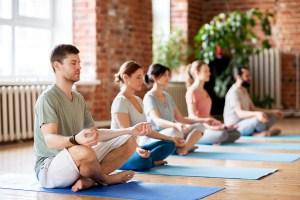 meditation class, meditation and western world