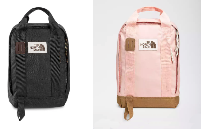 north face tote backpack for teens