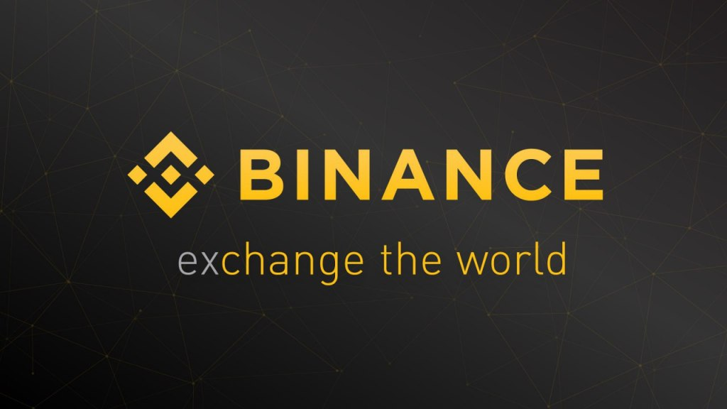 Binance logo, best crypto exchange
