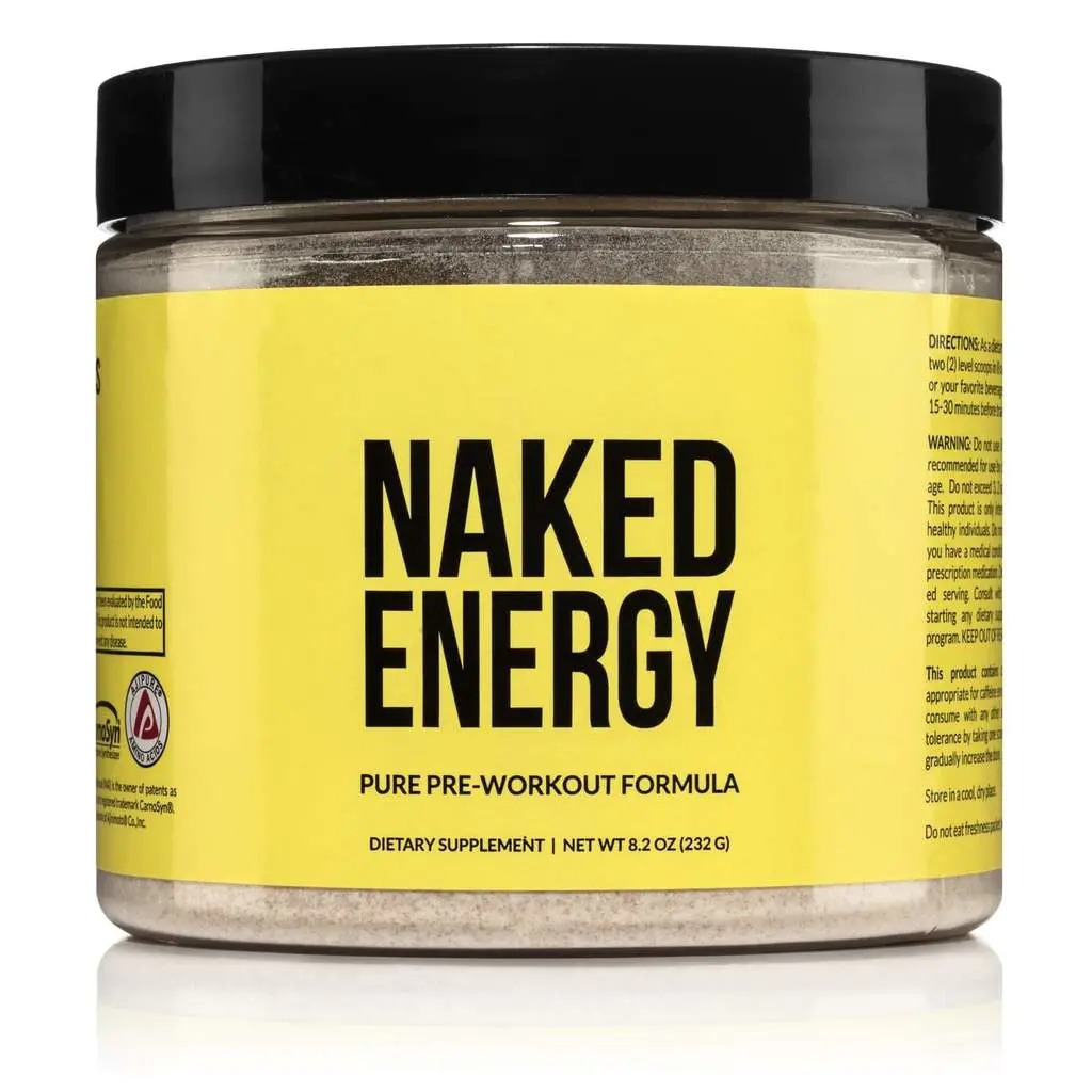 Naked Energy Pure Preworkout Formula, Preworkout supplements