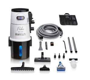prolux professional wall mounted vacuum