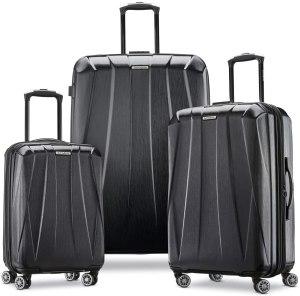 Samsonite hardside luggage, Amazon deals