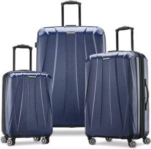 samsonite 3-piece luggage set