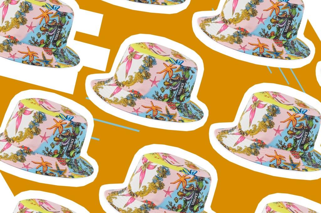 Versace Trésor De La Mere Printed Bucket Hat