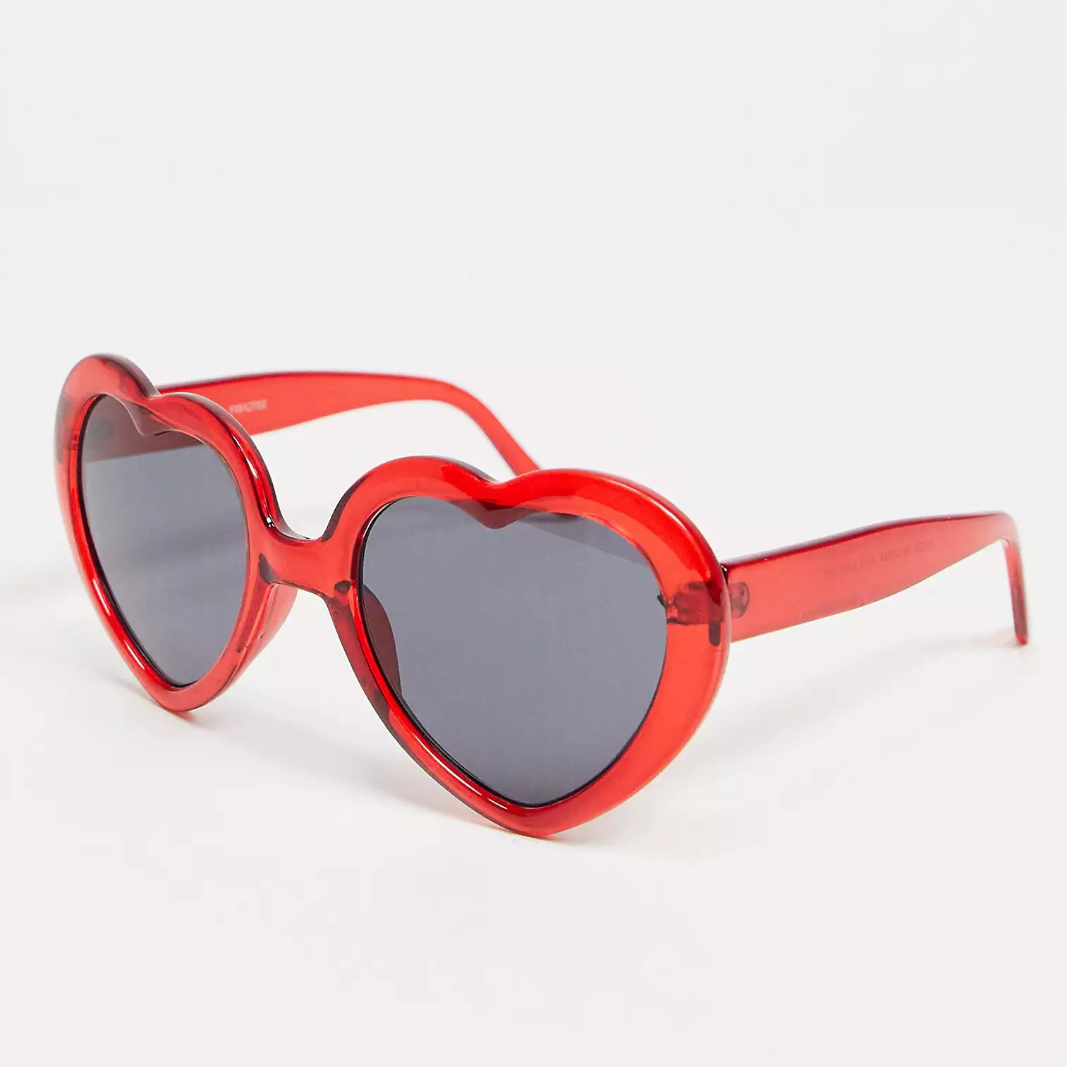 ASOS DESIGN Heart Sunglasses