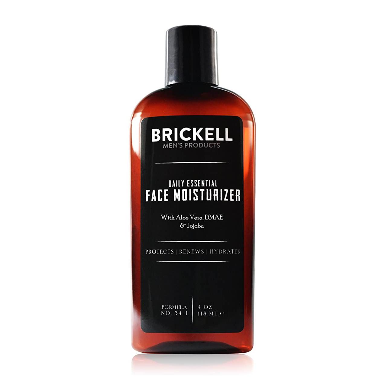 Brickell Men's Daily Essential Face Moisturizer