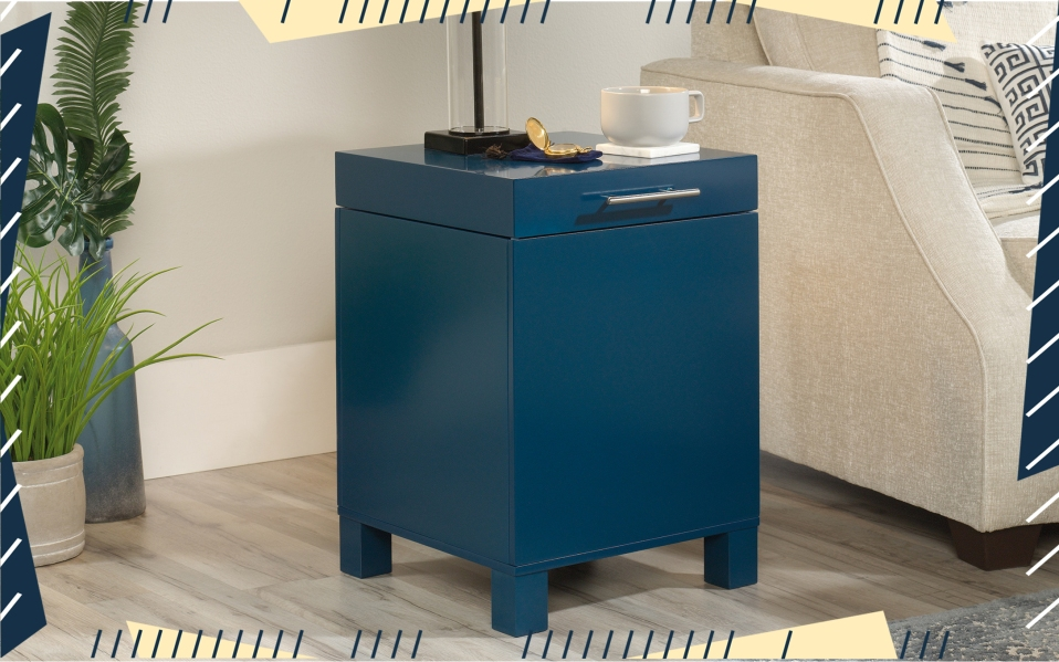 side tables with storage