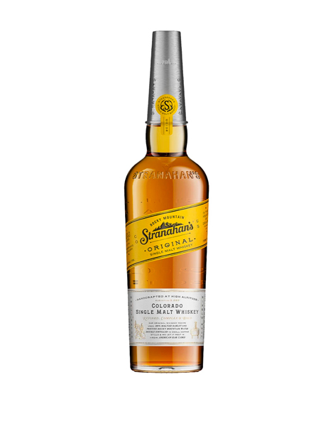 stranahan colorado single malt whiskey bottle