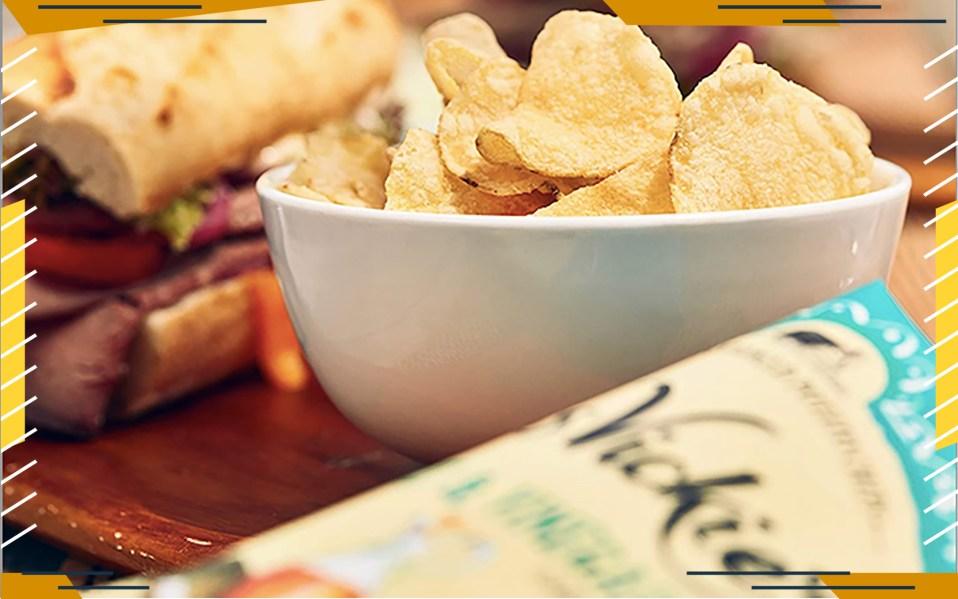 flavored potato chips