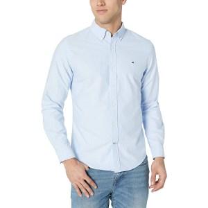 tommy hilfiger men's oxford button down shirt