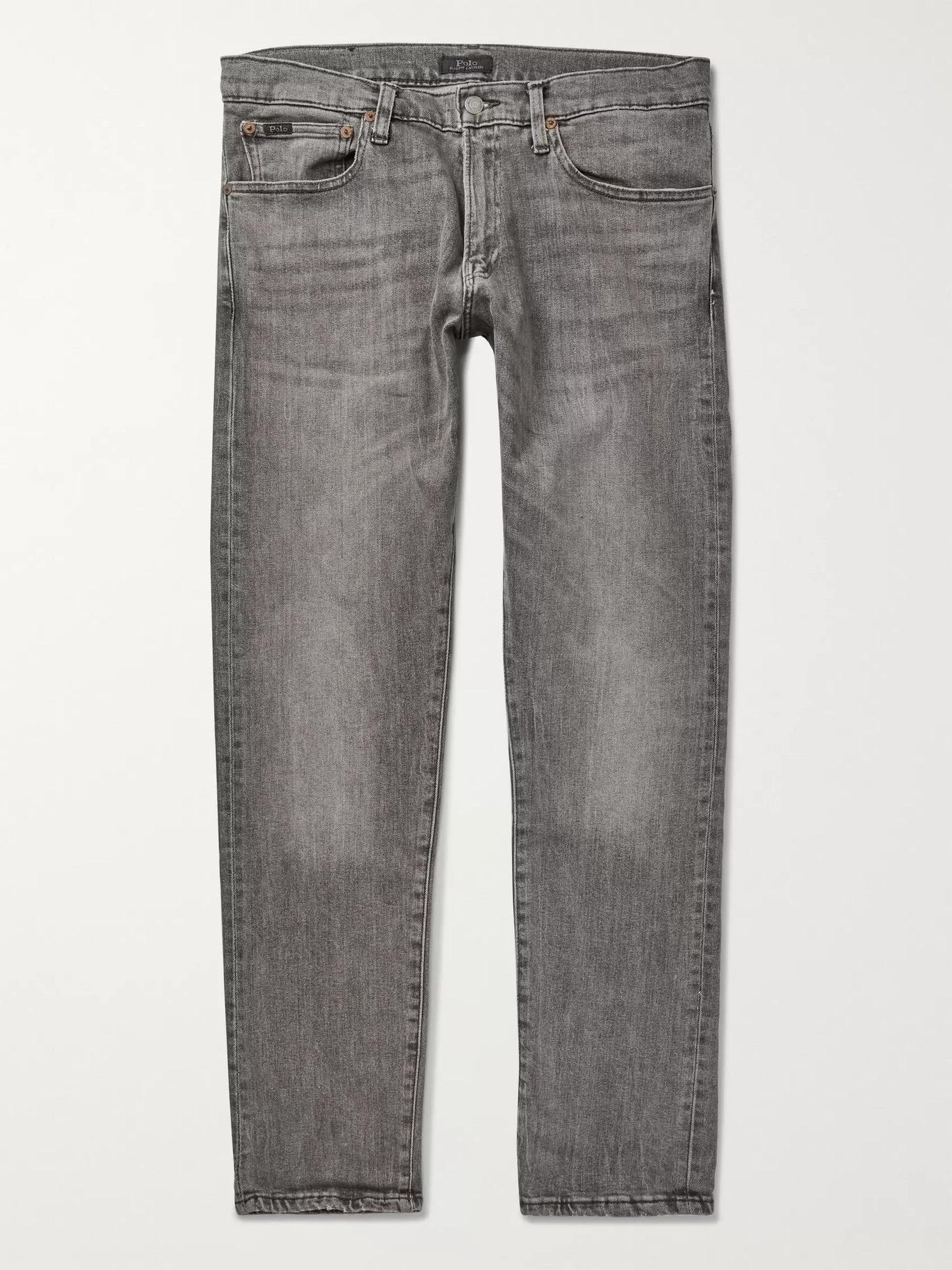 Polo Ralph Lauren Warren Slim-Fit Stretch-Denim Jeans, designer jeans for men