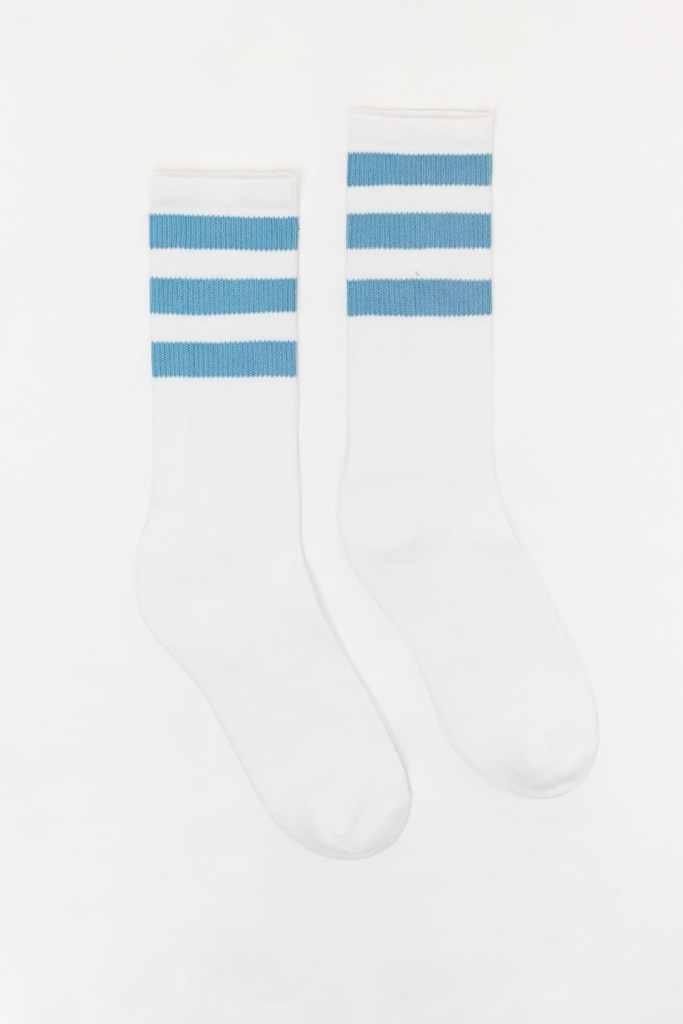 crew socks with stripes