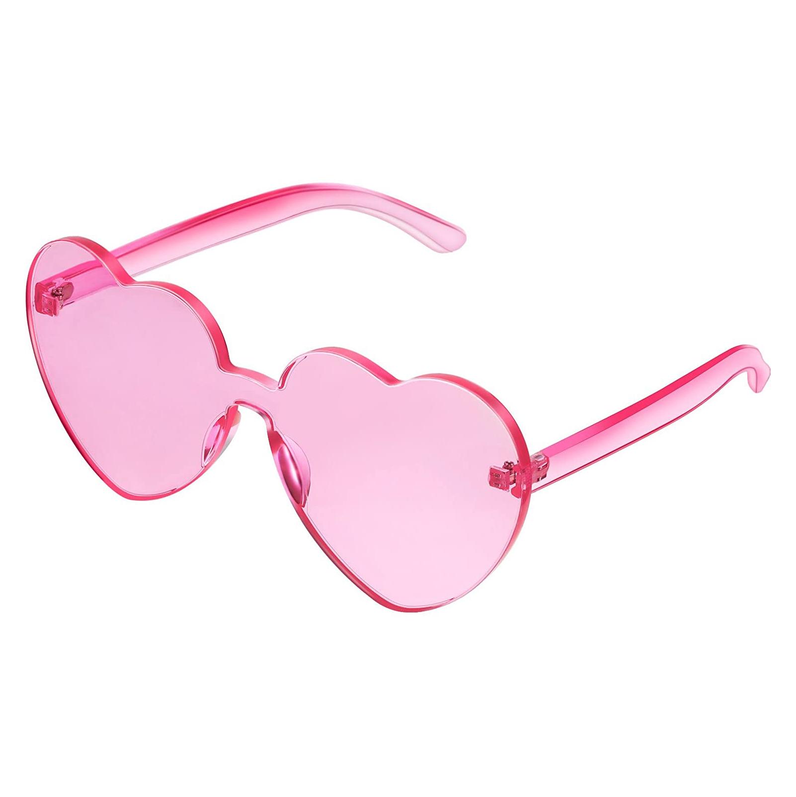 Maxdot Heart Shape Sunglasses
