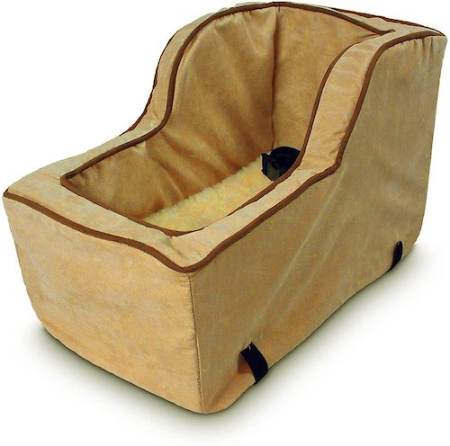 Snoozer Pet Products Luxury Microfiber High Back Console Dog Car Seat